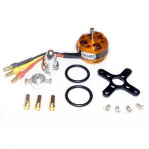 Motor brushless 1450KV Outrunner