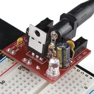 Kit fuente de alimentación DC 5V/3.3V para placa prototipo
