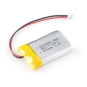 Batería LiPo 900mAh / 3.7V - 603048