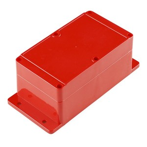 Caja estanca roja