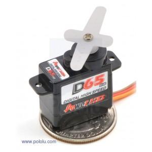 Micro servo miniatura digital DS65HB