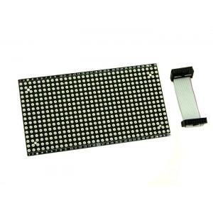 Matriz de LED ultraplana 16x32 - Rojo