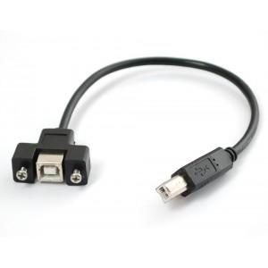 Latiguillo panel - USB Macho
