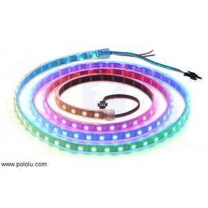 Tira de LED RGB indexable - 2m (60 leds/m) - WS2812B