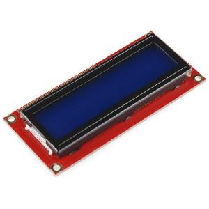 Pantalla LCD 16x2 caracteres FSTN - Amarillo sobre azul