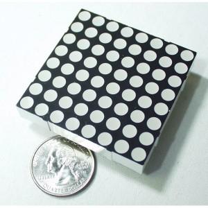 Matriz de LED bicolor mediana 8x8
