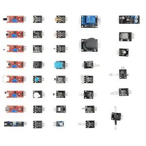 Kit de 37 sensores compatible Arduino