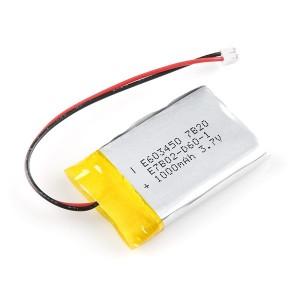 Bateria Lipo 1000mAh / 3.7V - 603050