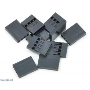 Conector DuPont 1x4 (10 unidades)
