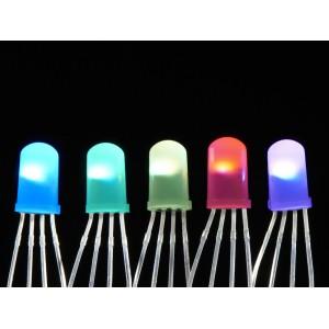 LED NeoPixel difuso 5mm - (5 unidades)
