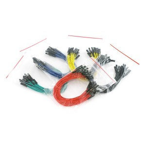 Set de cables Macho / Hembra 15cm (100 Unid.)
