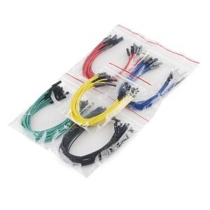 Set de cables Hembra / Hembra 15cm (100 Unid.)