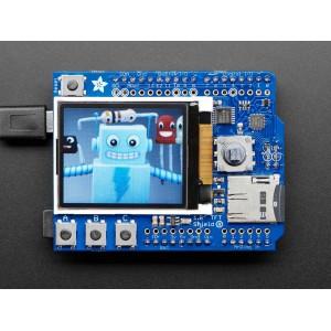 Adafruit color TFT shield con microSD y Joystick