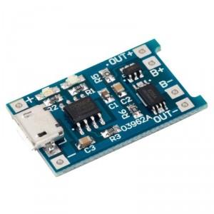 Cargador LiPo Micro USB TP4056