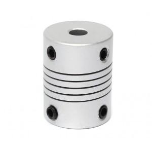 Acople de aluminio flexible - 5x5mm
