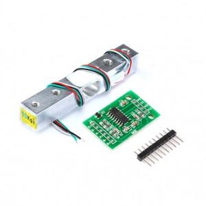 Célula de carga 10Kg con amplificador HX711