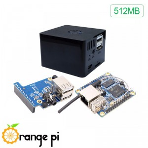 Kit Orange Pi Zero H2 512MB con caja