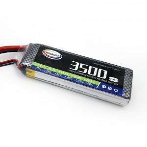 Batería Lipo 3500mAh 3S 25C, 11.1V - XT60