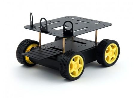 Chasis robot 4x4 con motores
