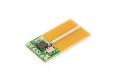 Transceiver NORDIC nRF2401A 2.4GHz con Antena