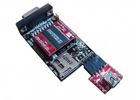 Controlador MicroVGA-PICASO-MD1 y Placa Base