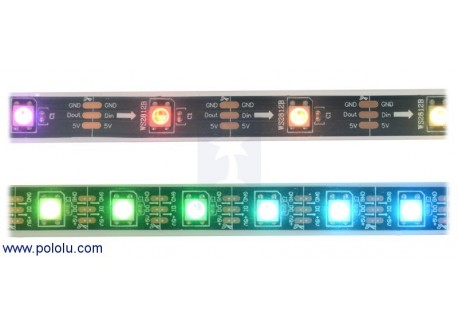 Tira de LED RGB indexable - 1m