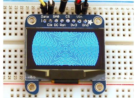 Mini pantalla OLED 128x64