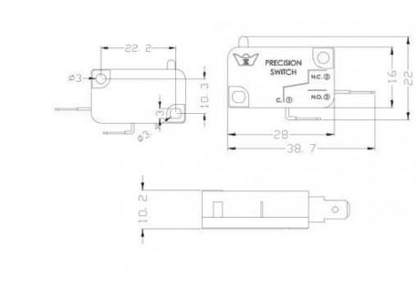 Pulsador LED - 30mm