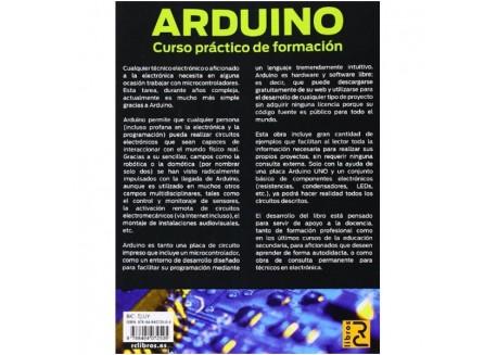 Kit iniciación Arduino con manual en Español