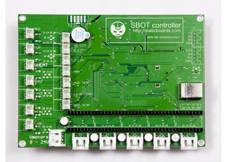 Controladora SBOT para impresión 3D