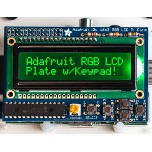 Kit LCD RGB 16x2 para Raspberry Pi