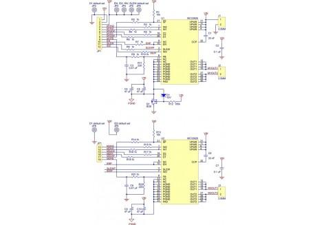 Controlador de motores dual MC33926 - 3A