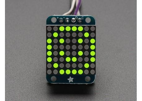 Mini matriz de LED 8x8 i2C - Verde