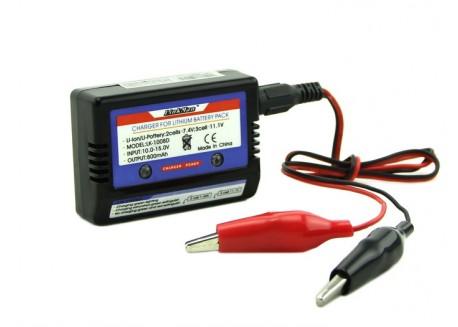 Mini cargador de baterías LiPo (2-3S)