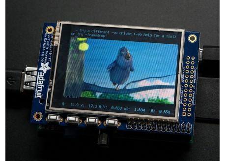 """Pantalla TFT Raspberry Pi - 2.8"""" táctil"""