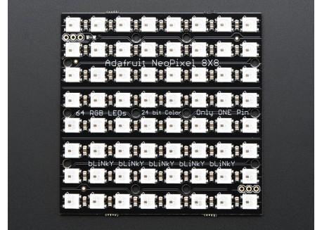 Matriz NeoPixel 8x8 (WS2812)