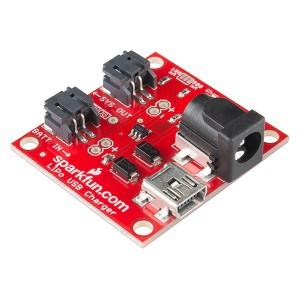 Cargador de batería LiPo USB y DC