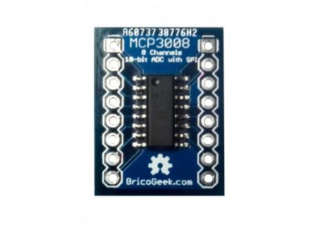 Conversor ADC 8-bits MCP3008