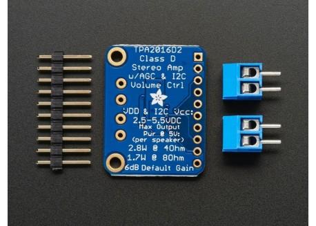 Amplificador de Audio 2.8W I2C TPA2016