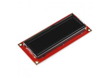 Pantalla LCD 16x2 caracteres FSTN - Blanco sobre negro