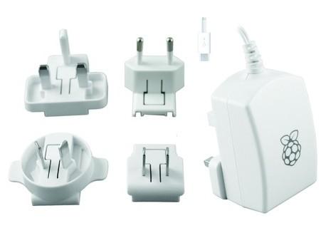 Alimentador Micro USB para Raspberry Pi (5V-2A)
