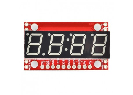 Display 7 Segmentos Serial - Rojo