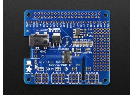 Adafruit Servo Hat para Raspberry Pi