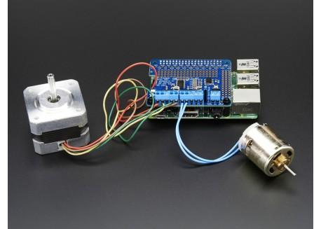 Adafruit DC-Stepper Hat para Raspberry Pi