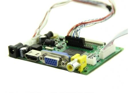 """Pantalla IPS 7"""" 1280x800 HDMI/VGA/AV"""