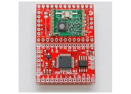 Moteino R4 RFM69W con flash 4Mbit