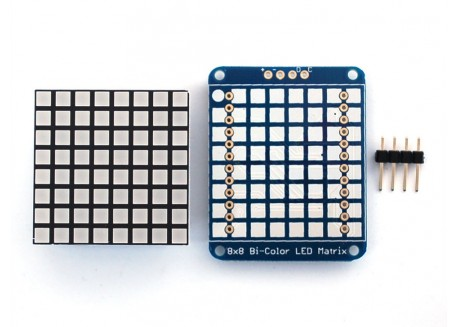 Matriz de LED I2C 8x8 bicolor (píxel cuadrado)
