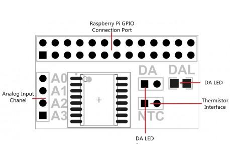 Conversor AD/DA PCF8591T para Raspberry Pi