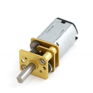 Motor Micro Metal DC con reductora 30:1