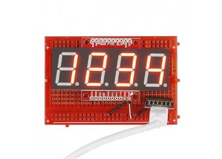 Display serial OpenSegment 20mm - Rojo